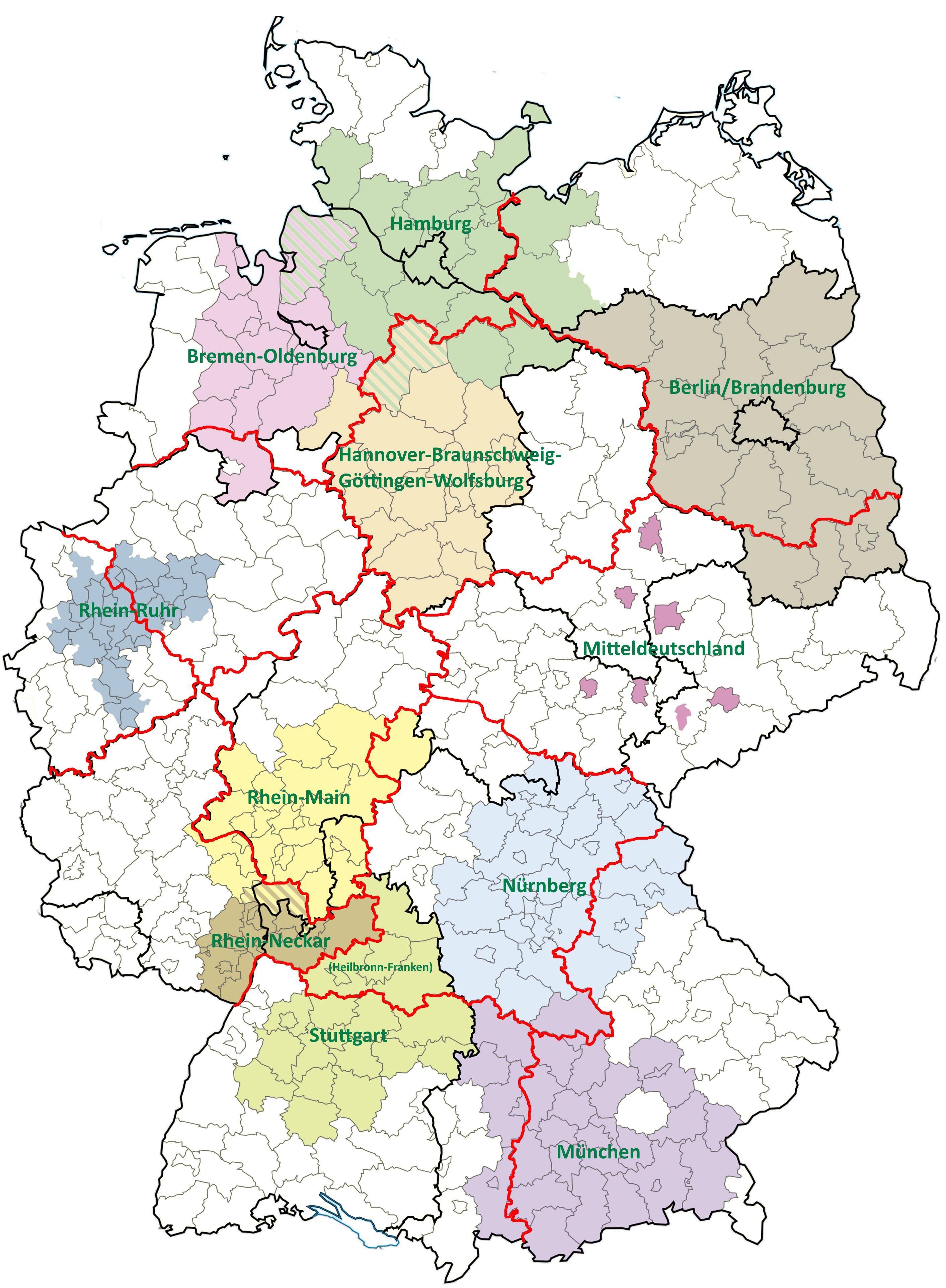 Metropolregionen